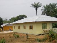 Das neue Clinicgebäude am 1. Februar 2017