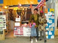 Famata und ihr Papa Alfred auf dem Tollwood Juni 2012