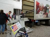 Für den Container ins Ebola-Land August 2014