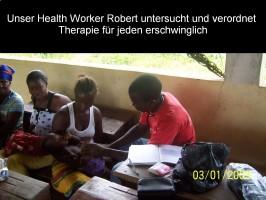 Unser Health Worker Robert