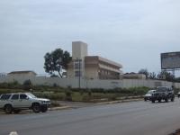 Das neue Gesundheitsministerium von Liberia, von den Chinesen erbaut