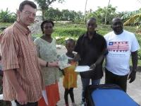 Famatas Familie erhält Unterstützung aus Deutschland