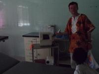 Im Bong Mine Hospital das einzige Ultraschall-Gerät weit und breit