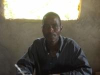 Samuel Baie ist in Mawah für die Registrierung der Patienten verantwortlich