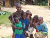 Solches Lachen ist das Ziel von Help-Liberia.
