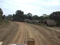 Wunderbare Strassenverhältnisse nun nach der chinesischen Planierung