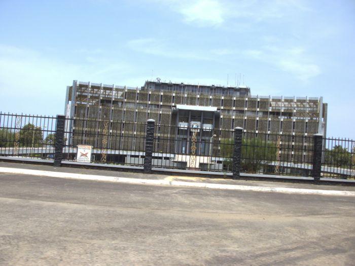 Die Mansion, der Regierungssitz der Präsidentin