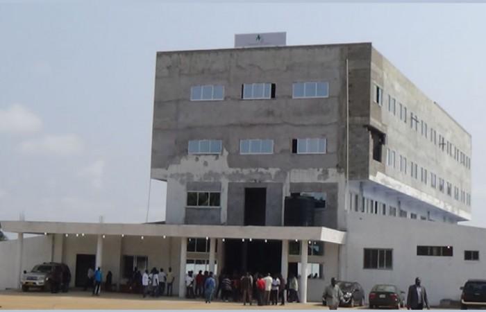 Die neue Island Clinic in Bushroad Island Monrovia