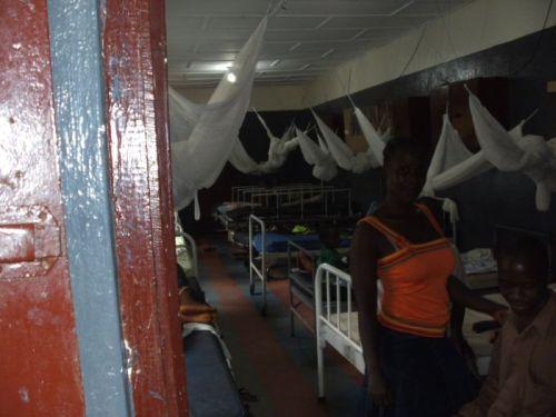 Ein Krankenzimmer im Rennie-Hospital in Kakata