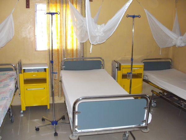 Ein Zimmer in der GERLIB-Clinic