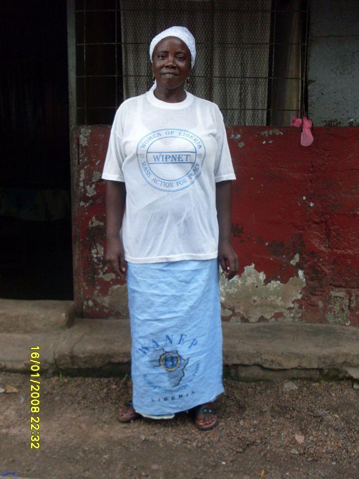 Eine der Tausende von WIPNET-Frauen