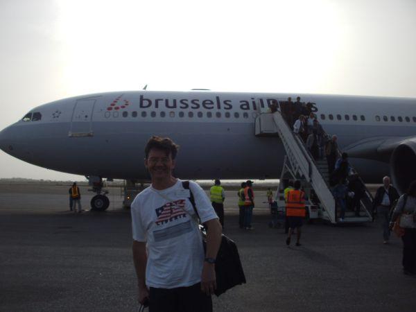 In Monrovia angekommen mit SN-Brussels