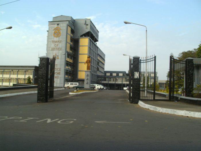 Das liberianische Justizministerium