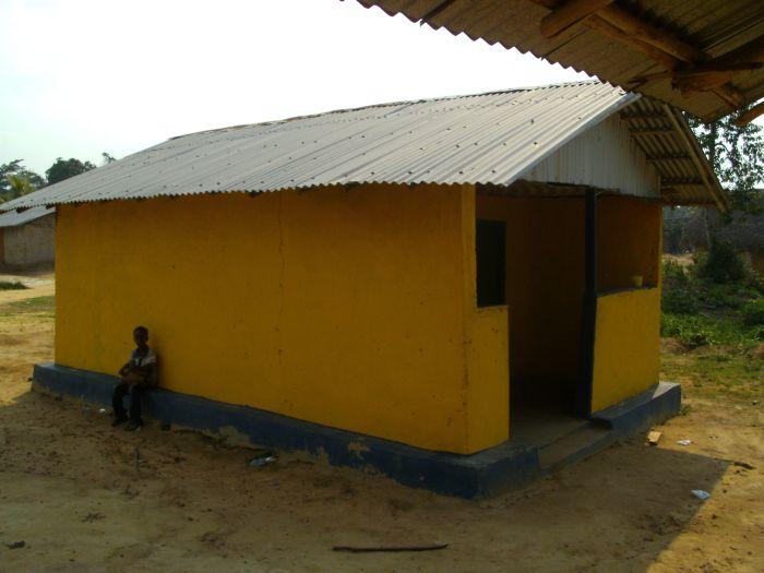 Das Hebammen-Häuschen an der Yarbayah-Clinic