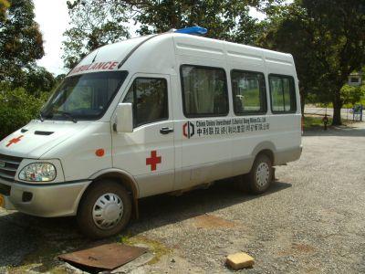 Die neue chinesische Ambulanz des BMC-Betriebskrankenhauses